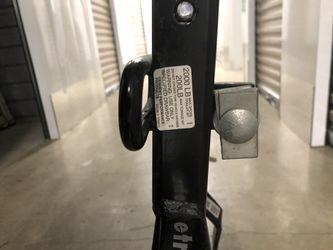 E trailer weight distribution hitch shank Thumbnail