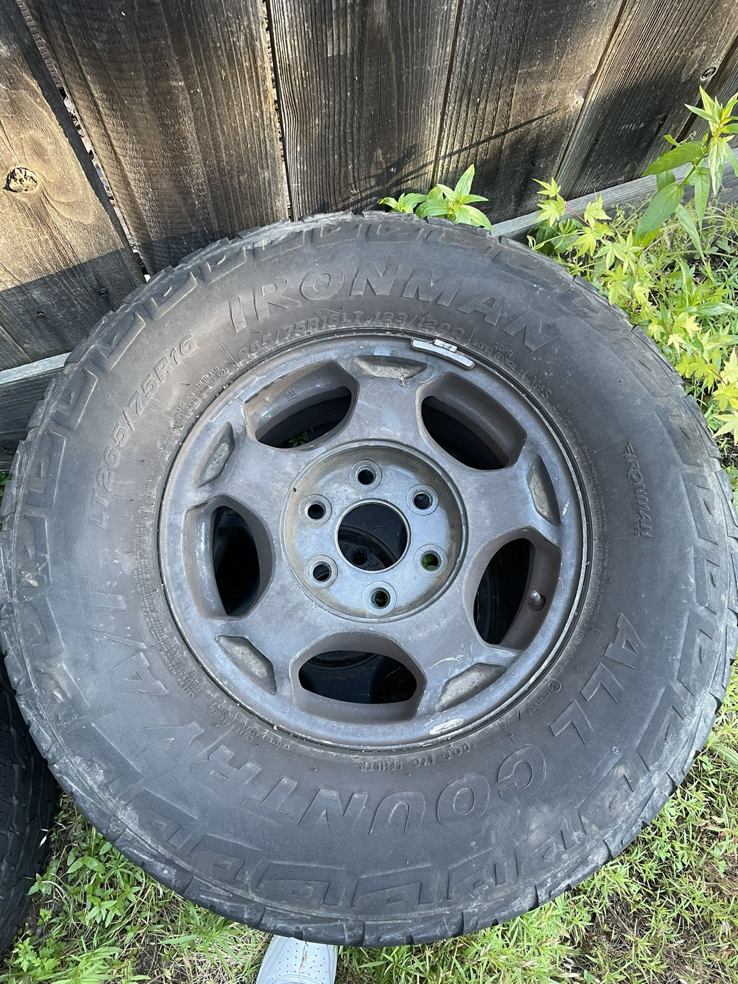 Selling Tires And Rims, Lmk 400 For The Set Of 4, Need It Gone ASAP! Wheels Were Once On A Chevy Silverado 1500