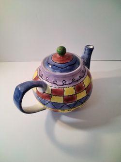 Very Cute Tea Pot Great For Home Decor.   Thumbnail