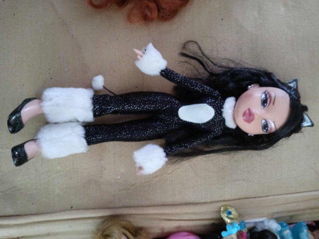 Rare Vintage Bratz Halloween Kitty Costume Doll