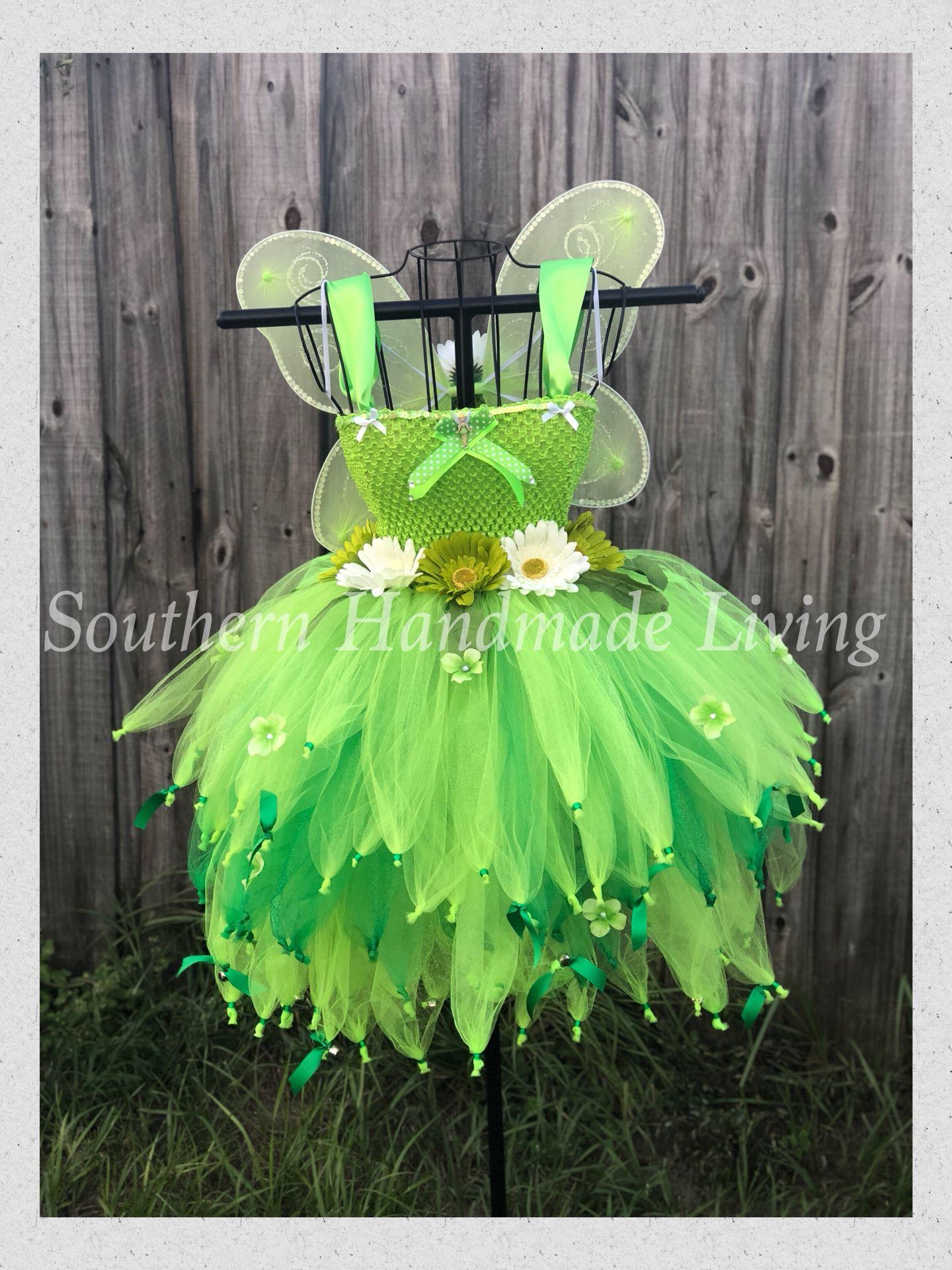 Light up Tinkerbell Tutu Dress