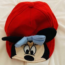 Disney Minnie Mouse Baby Hat Ears Thumbnail
