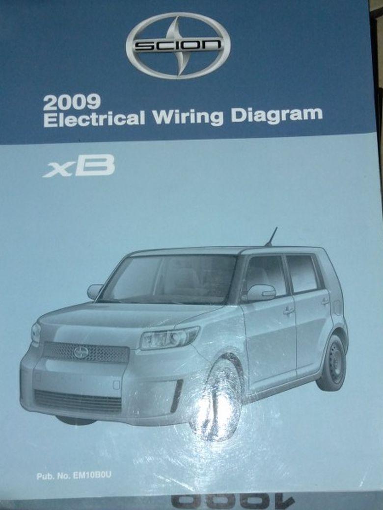 2009 Scion Electrical Wiring Diagram Manual