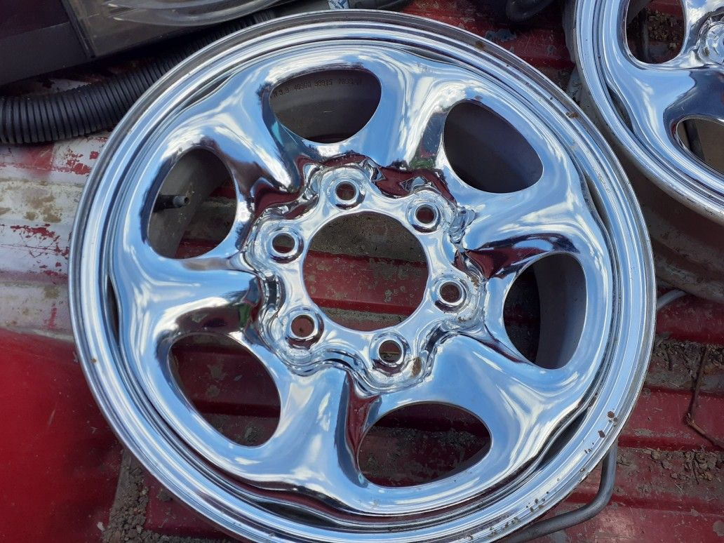 Nissan pick up or SUV rims