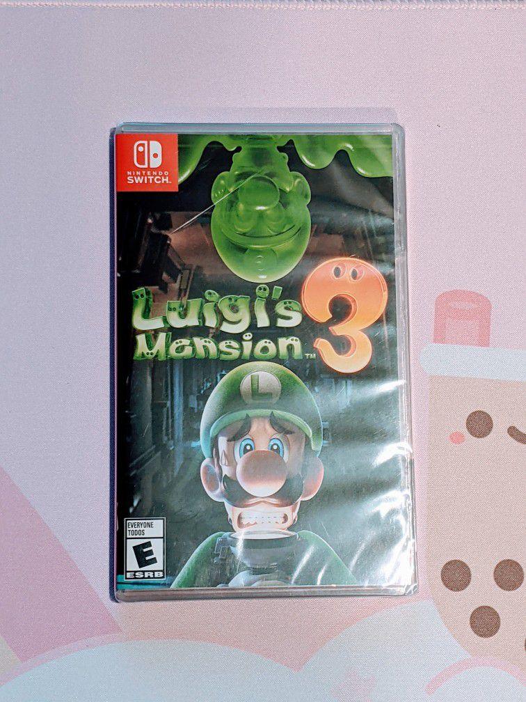 Luigi's Mansion 3 Nintendo Switch Sealed