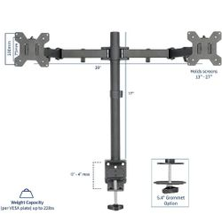 Dual Monitor Desk Mount Stand Thumbnail