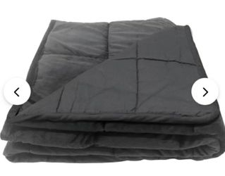 Bell + Howell Pleasure Pedic Glass Bead Weighted Blanket  12lbs Thumbnail