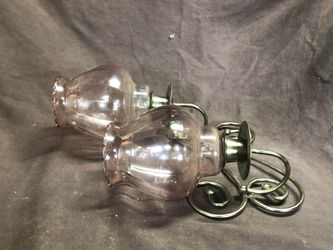 2 candle wall sconce set of 2 Thumbnail