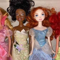 Disney Princess Dolls All 5 For $10 Thumbnail