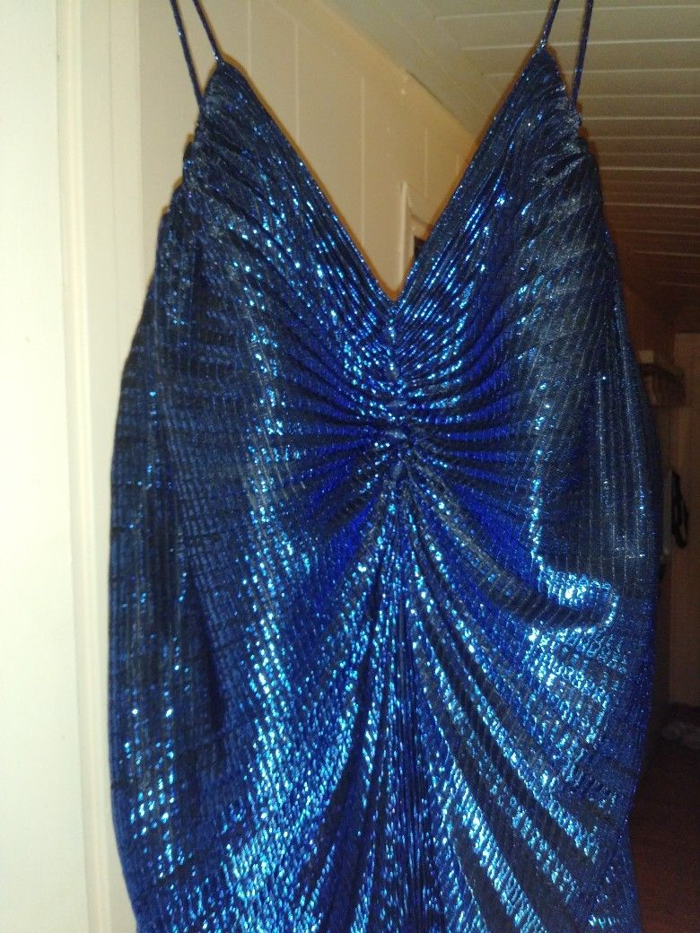 Beautiful Dress/gown Beautiful Deep Blue