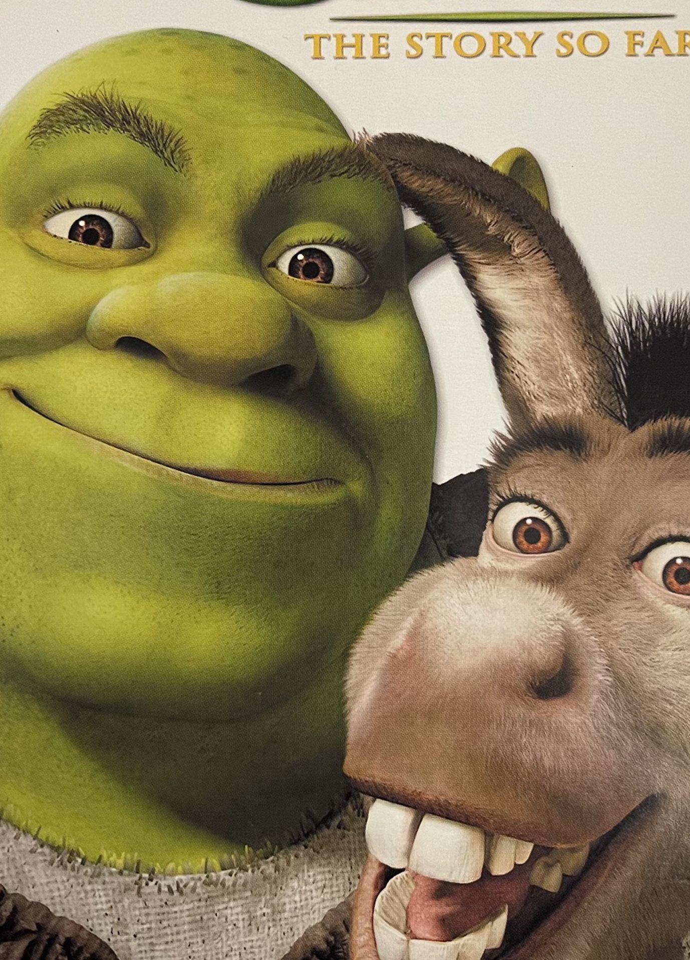 Shrek Dvds