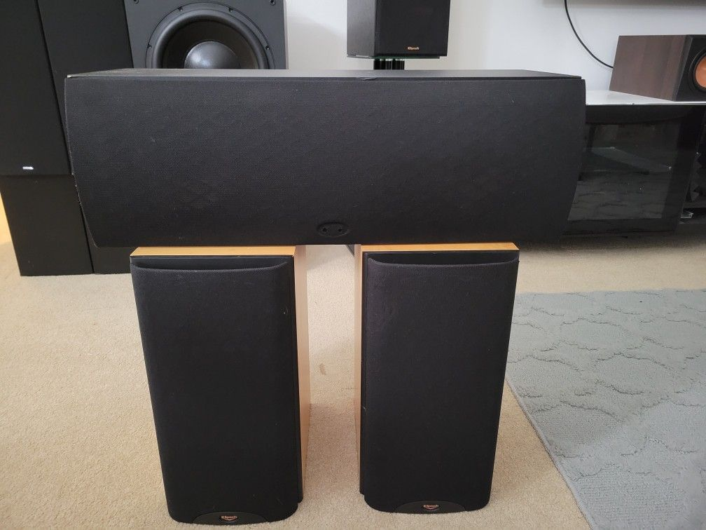 Klipsch Rb-3 And Rc-3 With Rs-3 Speakers