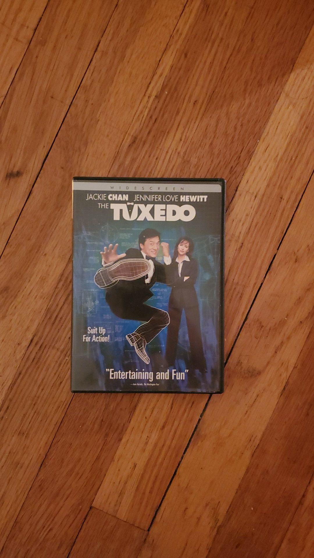 Poseidon, Shrek 2, Darkness Falls & The Tuxedo DVD (Lot of 4)
