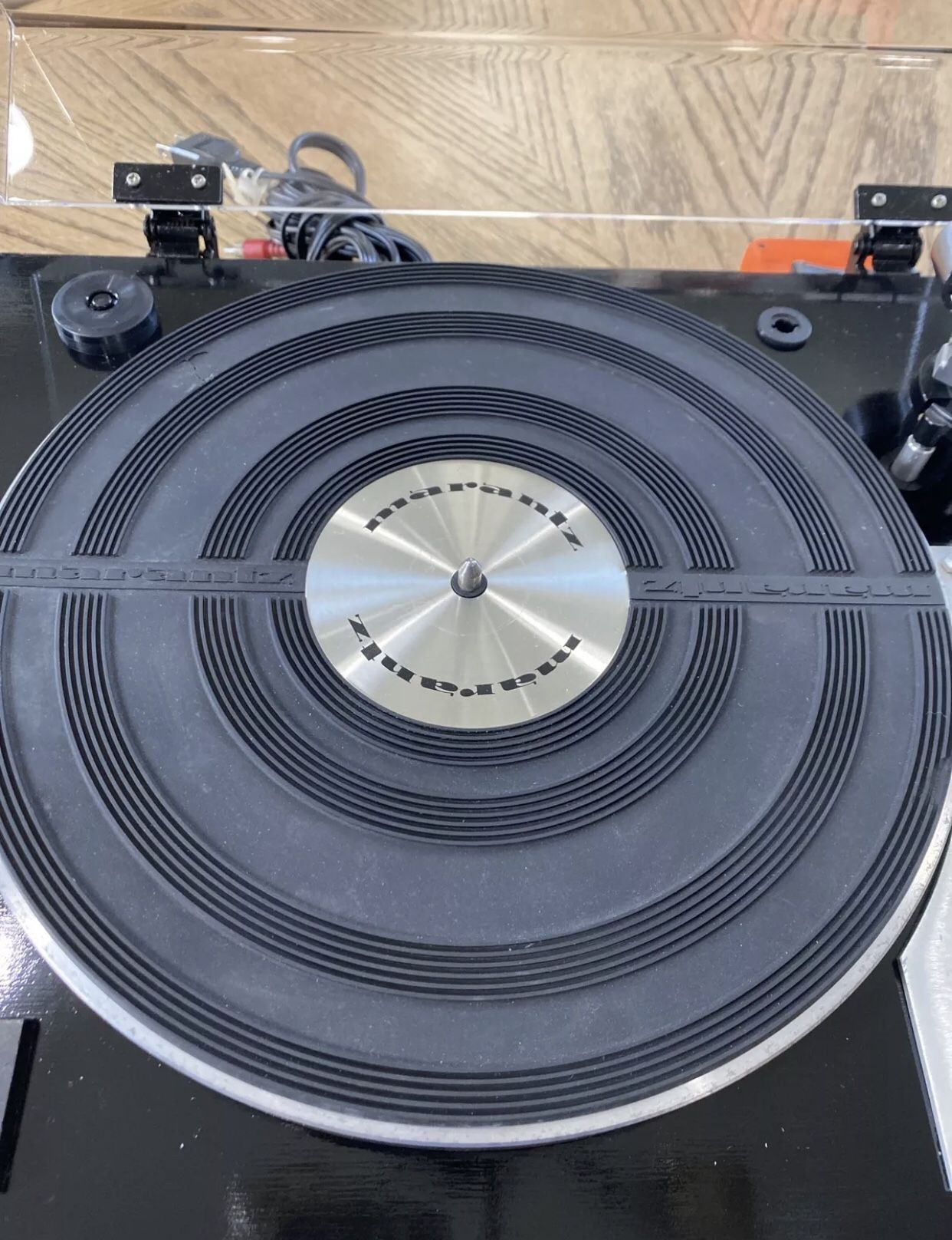 Marantz 6100 Turntable Excellent Condition Serviced Recently Sounds Amazing!