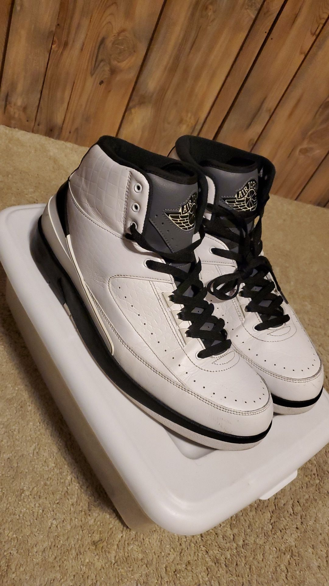 "Air Jordan 2s ""wing it"" size 13 read discription"