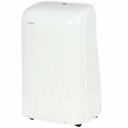 Toshiba 10,000 BTU (7,000 BTU DOE) 115v WiFi Portable Air Conditioner, RACPD1013, Factory Refurbished