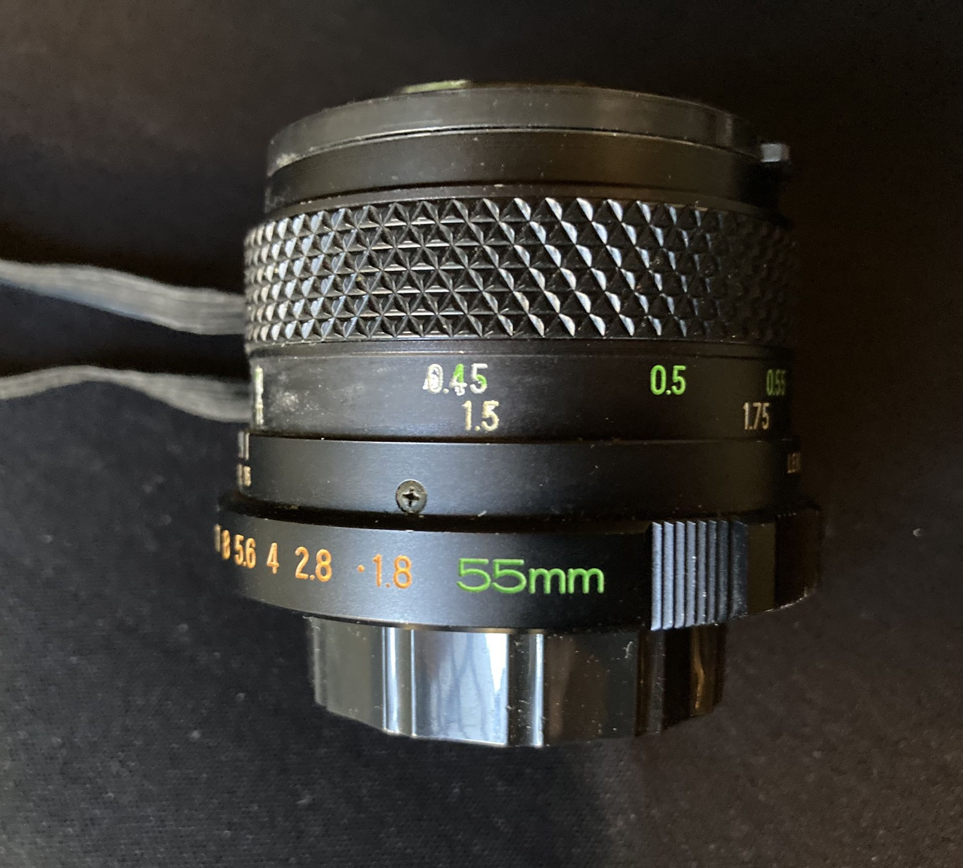 Mamiya MSX 1000 35mm SLR Film Camera with 55mm and 75~200mm Lens
