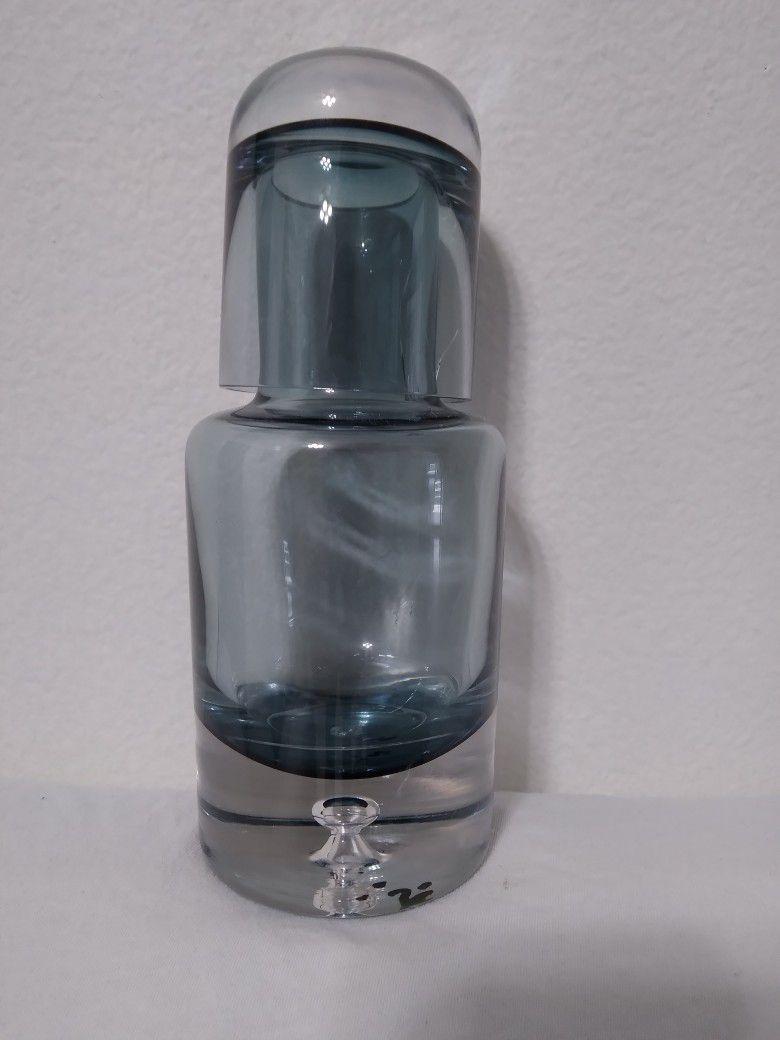 Krosno Polland Bubble Crystal Decanter