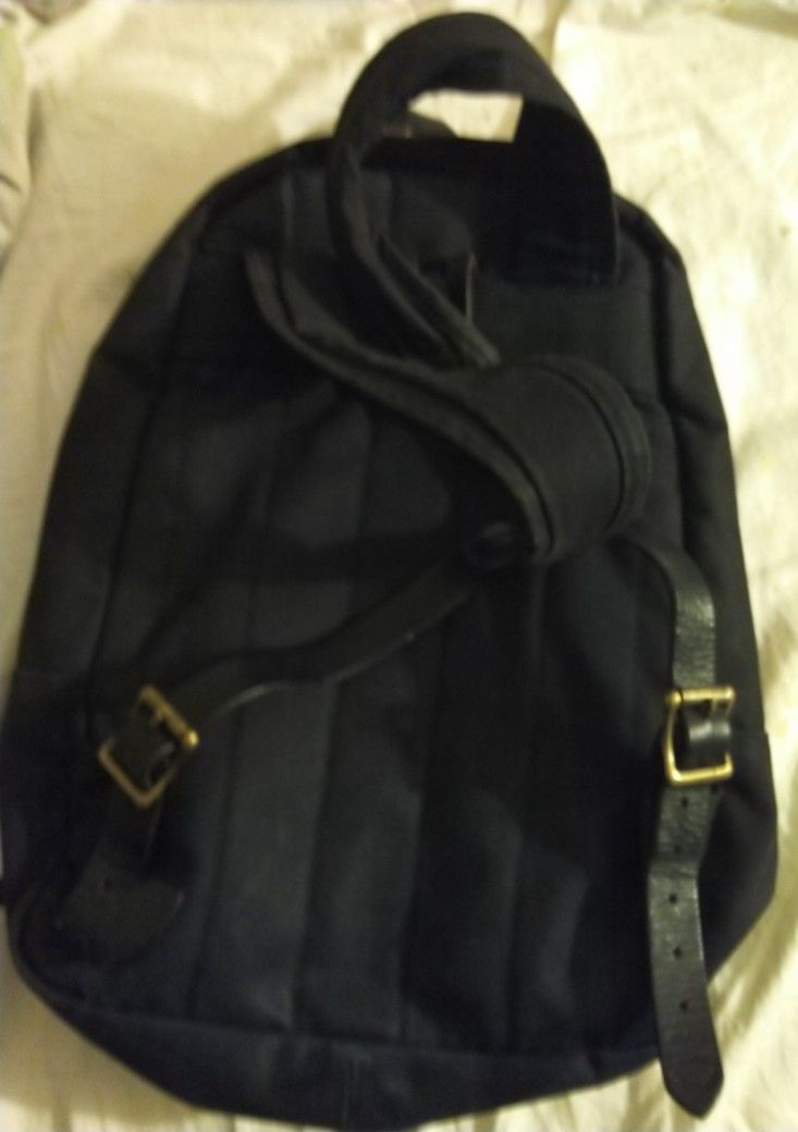 Filson Tin Cloth Dark Blue Backpack
