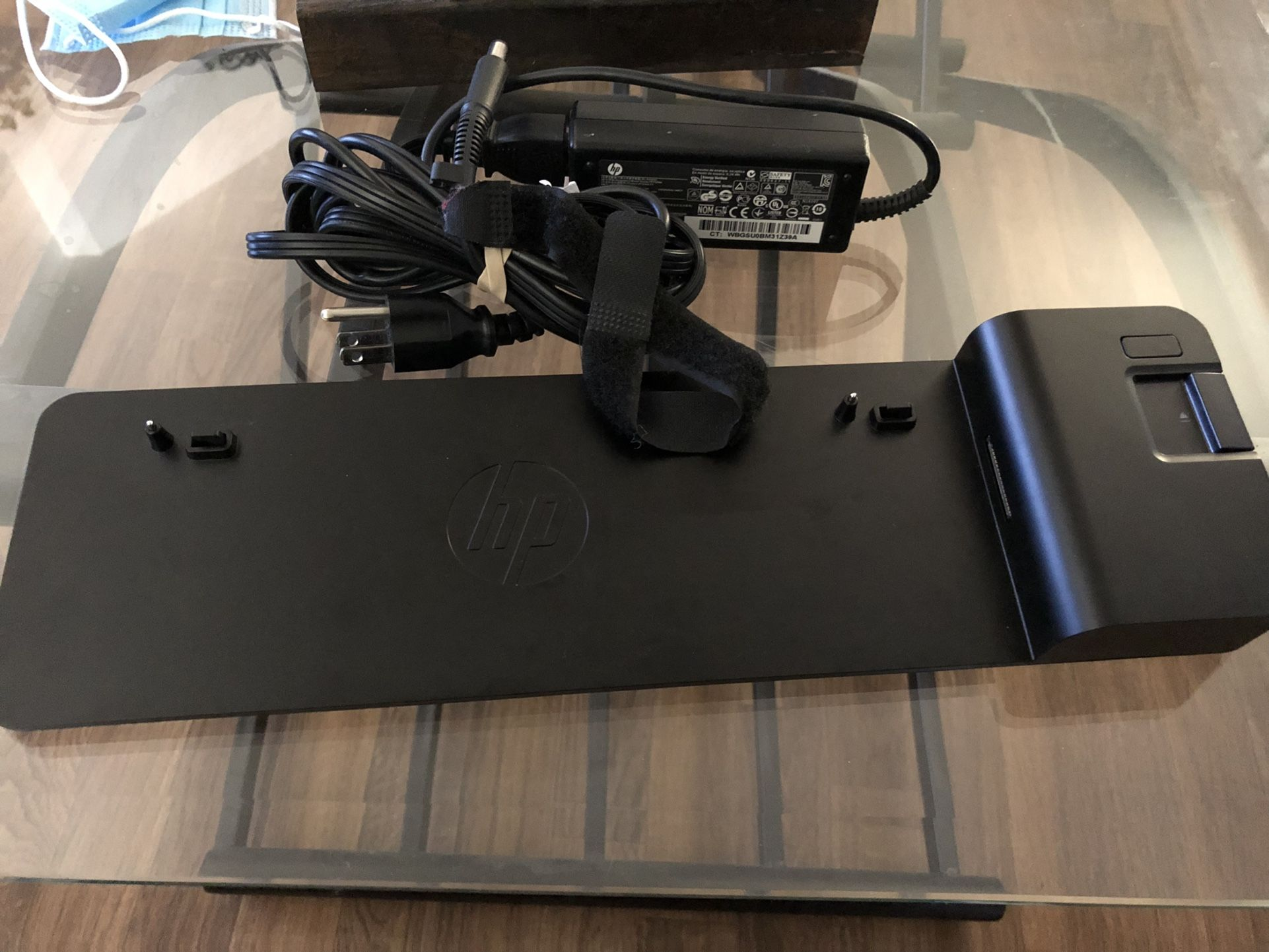 HP Docking Station With AC Adapter