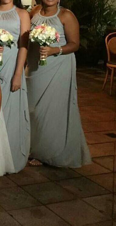 Davids bridal bridesmaid dress.