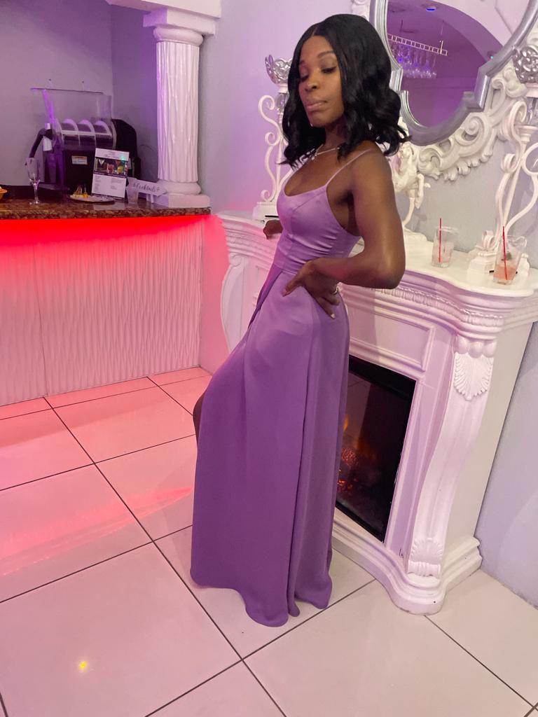 David Bridal Wisteria Bridesmaid Dress