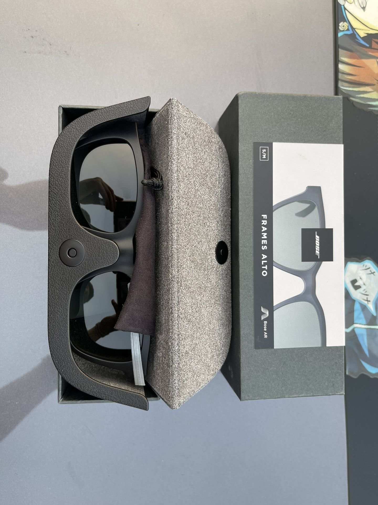 Bose - Frames Alto Small/Medium — Bluetooth Audio Sunglasses - Black