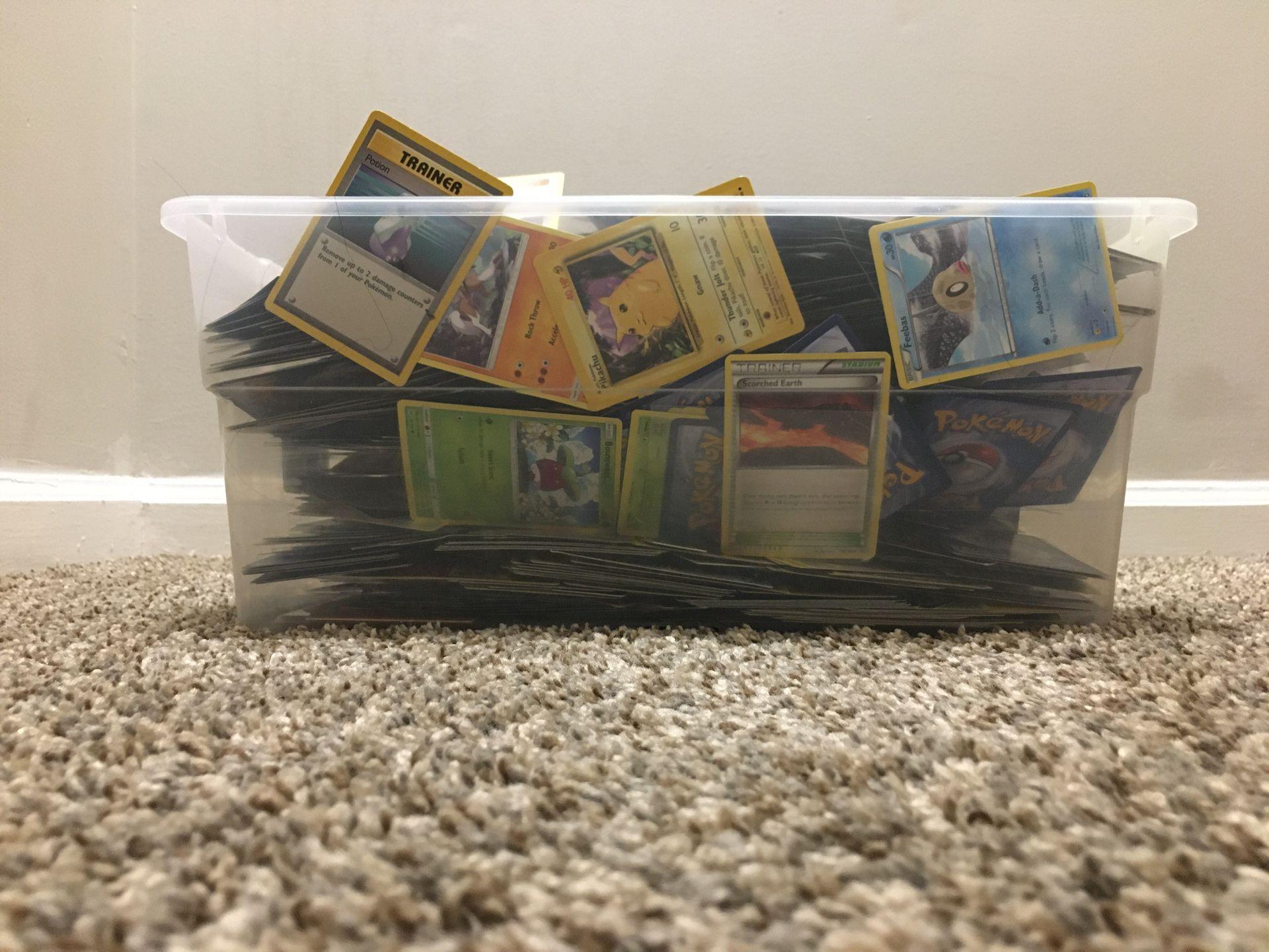 15 pound box of very rare Pokémon