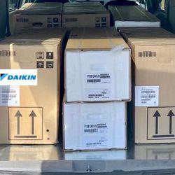 Daikin 48000BTU 4 Ton Multi Zone Mini Split AC With 12K Air Handlers  Thumbnail