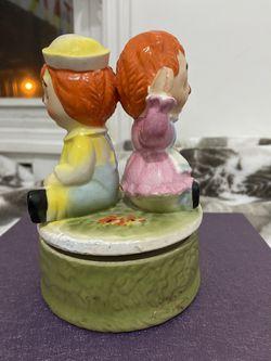 Vintage Raggedy Ann And Andy Music Box Thumbnail