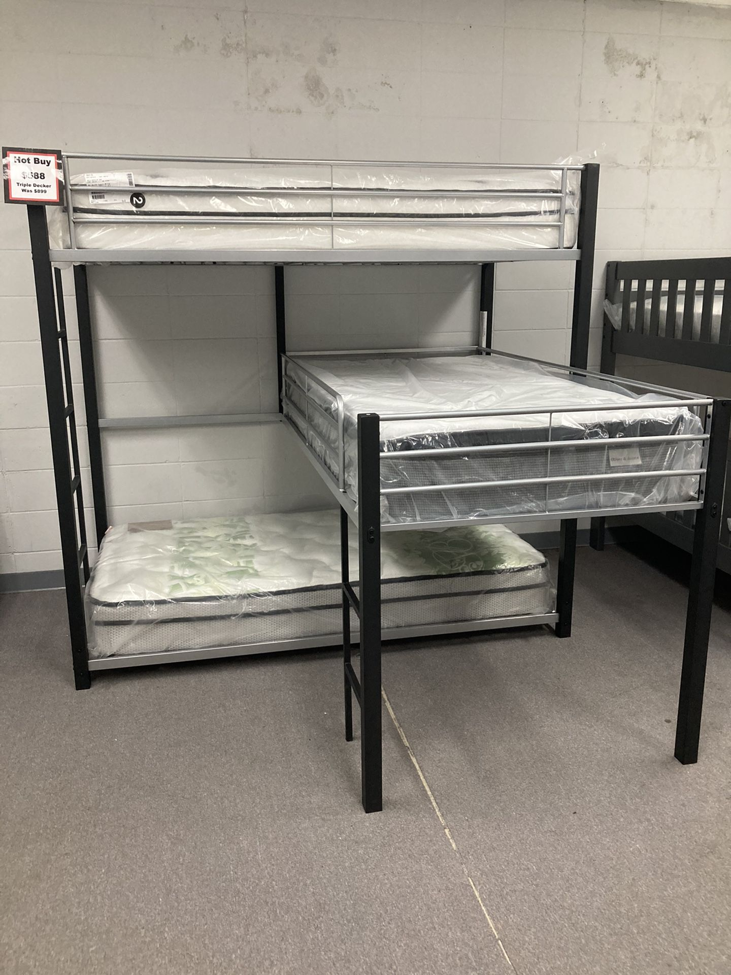 Brand New Kids Bunk Beds In Stock!! Low As $39 Down !!