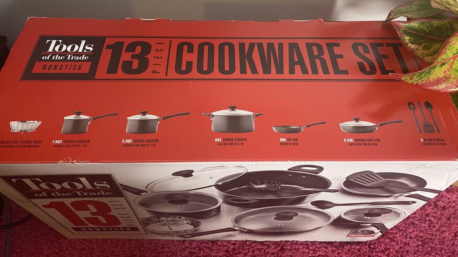 Tools Cookware set 13 piece