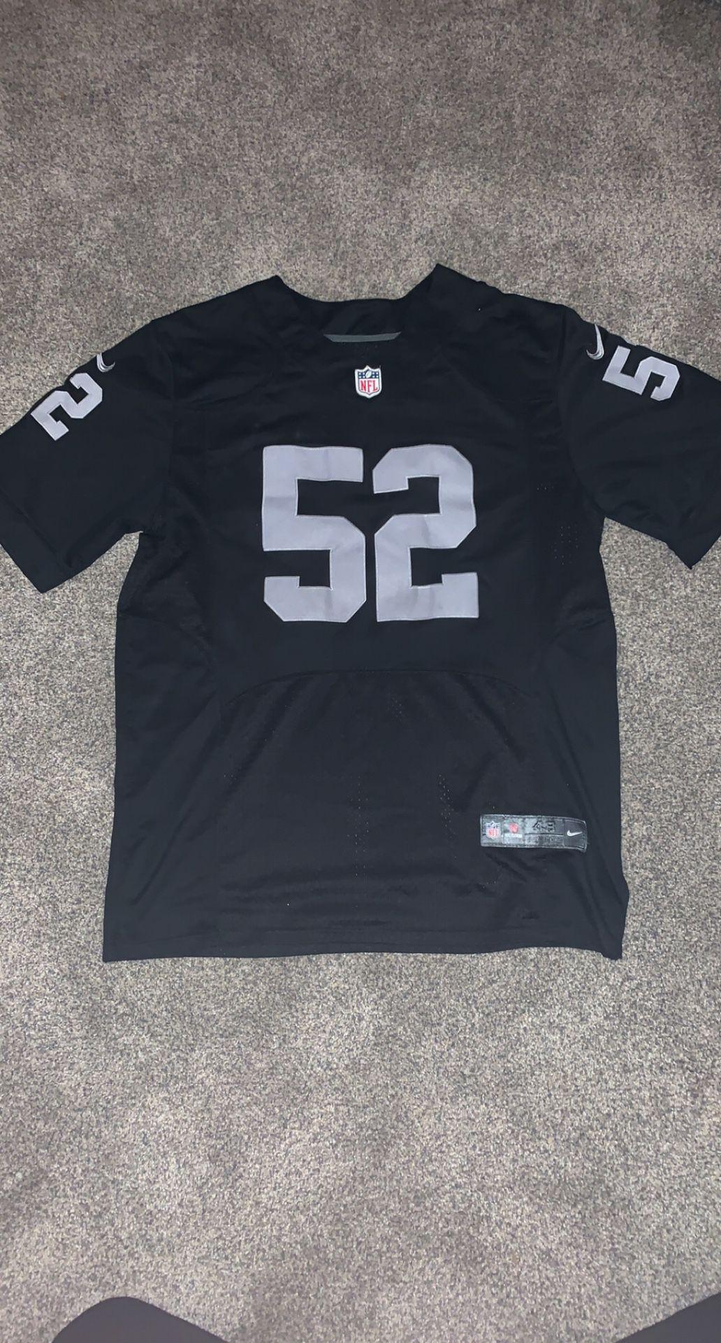 Raiders Jersey Size 48 XL