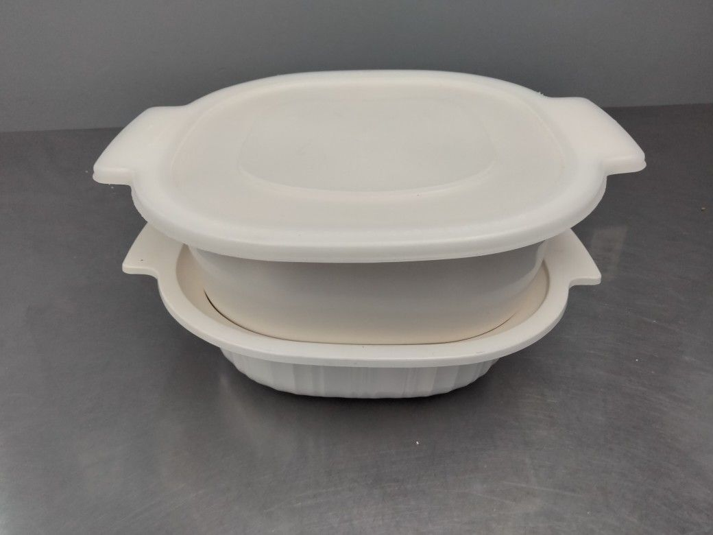 Rubbermaid Microwave Cookware 3 Pieces Set.