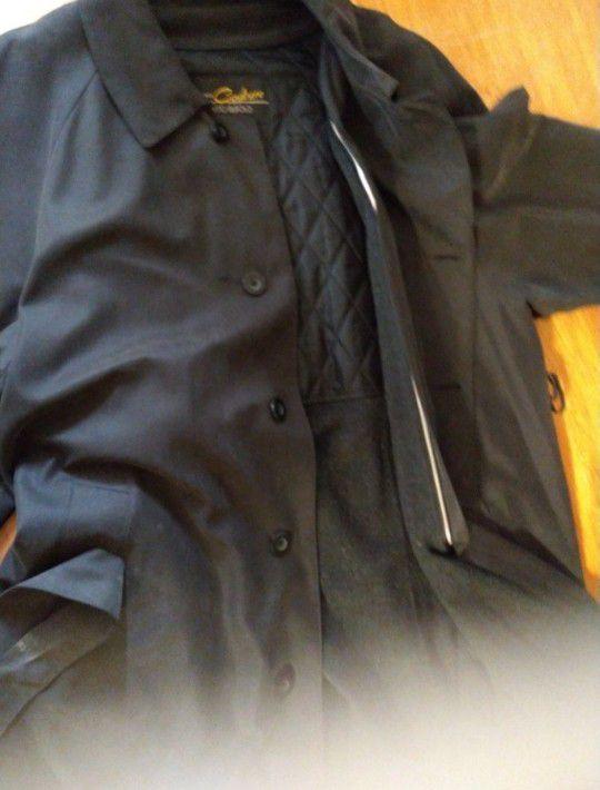 Men's Duster (Business Style) Waterproof Treated