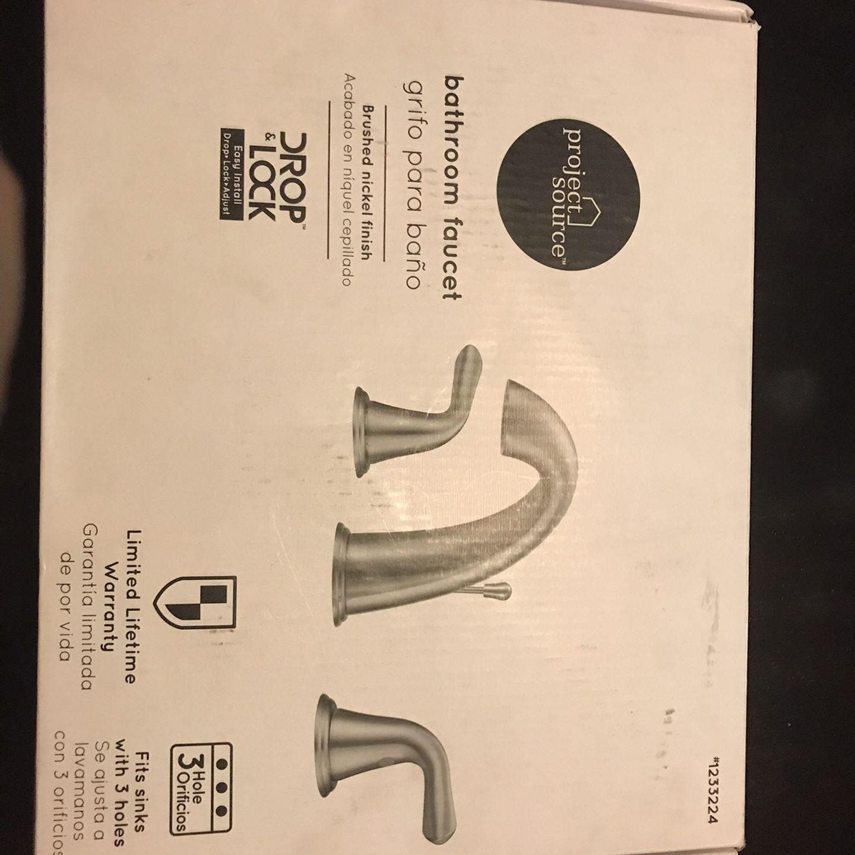 Project Sourse Bathroom Faucet