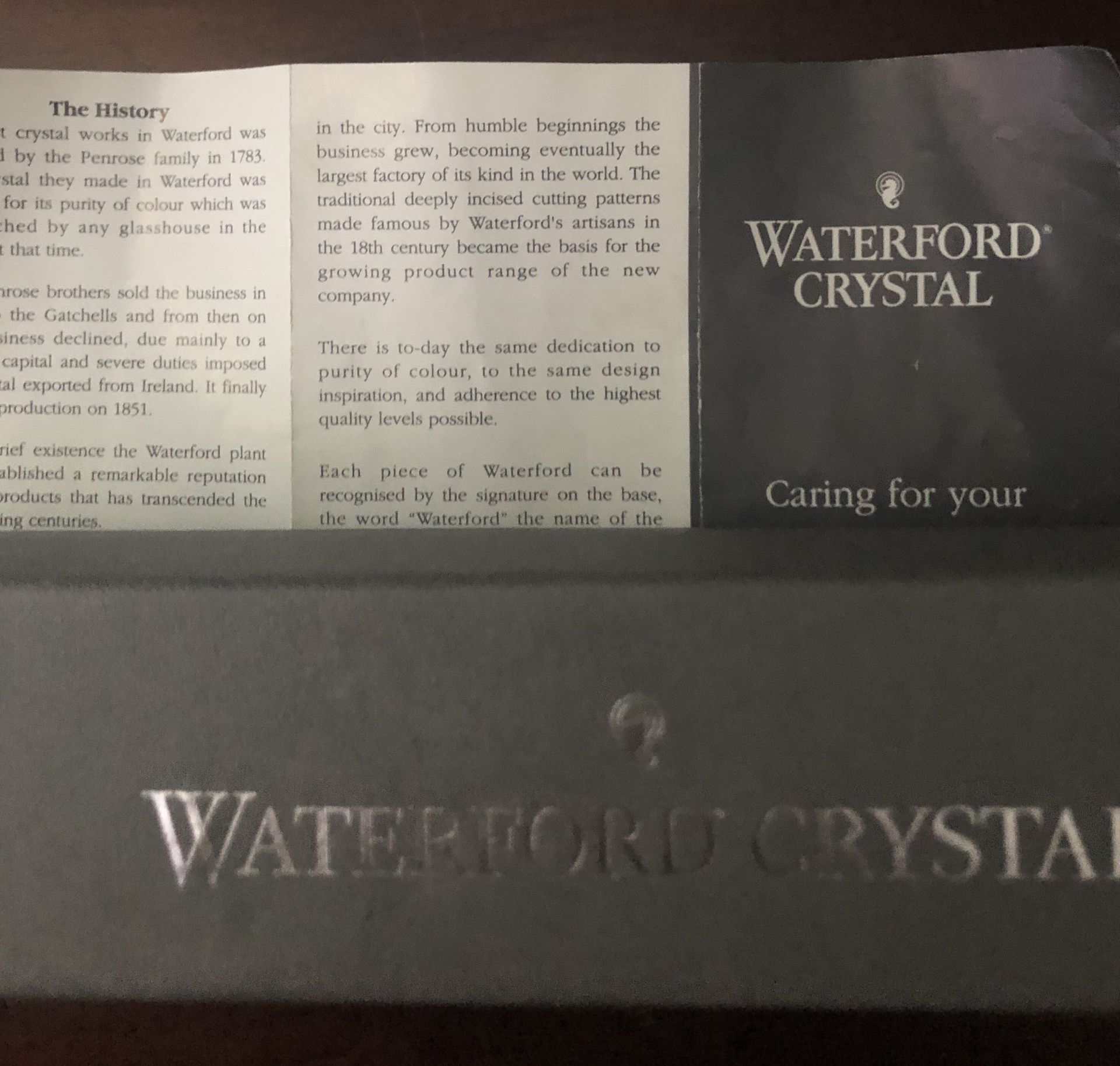 Waterford Crystal Letter Opener