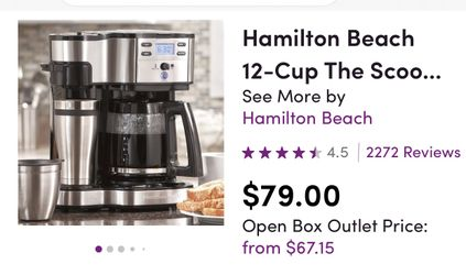 New coffee pot never used Thumbnail