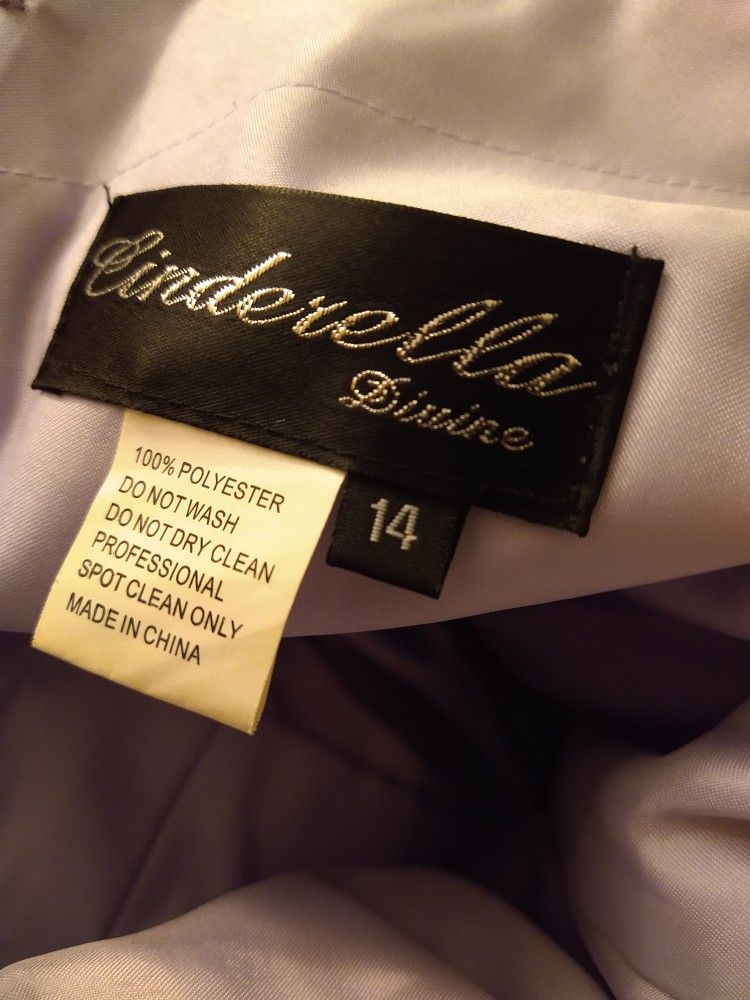 Lilac Purple Bridesmaid Dress