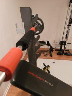 Bench Press And Weights Thumbnail