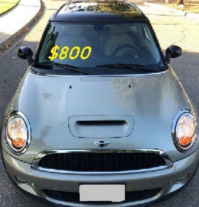 ✅✅✅$ 800 I m selling Urgently 🎁 2 00 9 Mini Cooper S CLUBMAN S  drives .✅✅✅