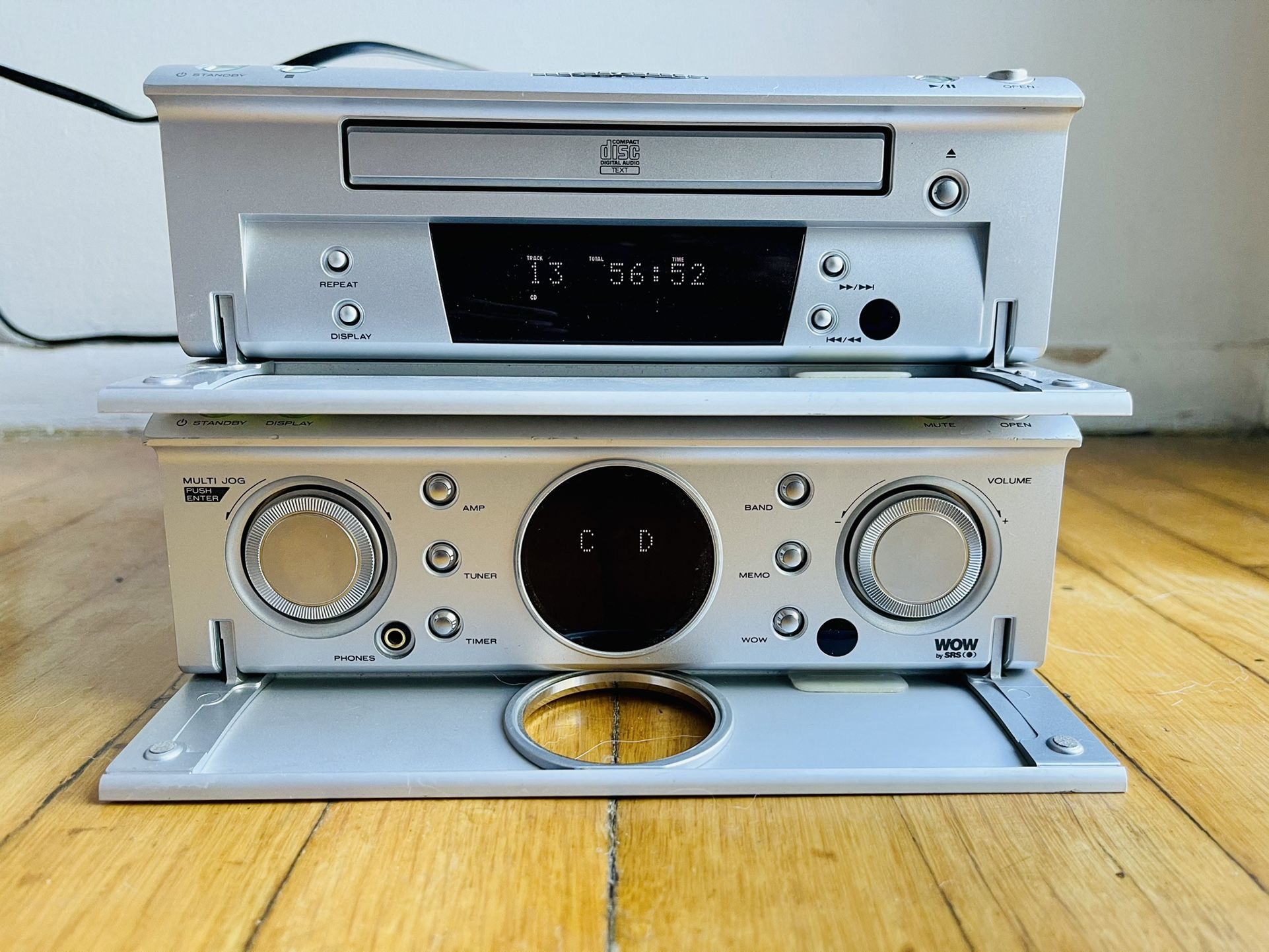 Marantz CD110 with Amplifier, Tuner SR110
