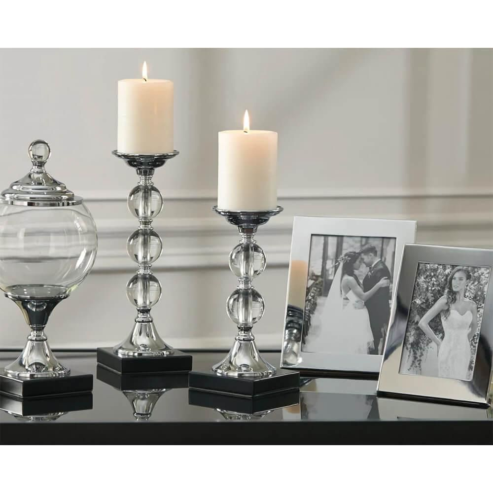 Ashley Signature Design A2C00125 Diella Accessory Set (Set of 5) - Silver Finish