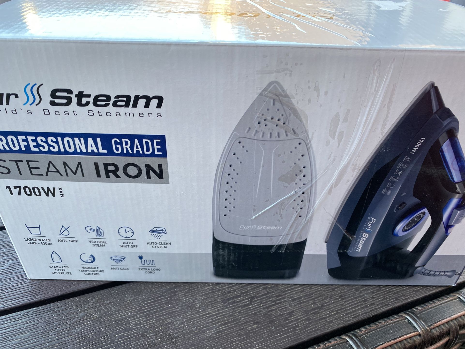 Profesional Steam Iron