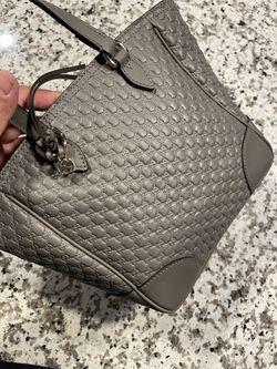 Gucci Bree Mini Tote Grey Thumbnail