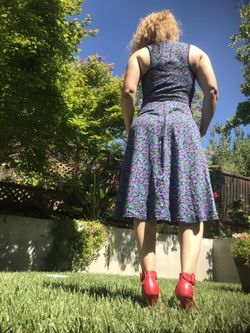 Vintage 80 s dress Thumbnail