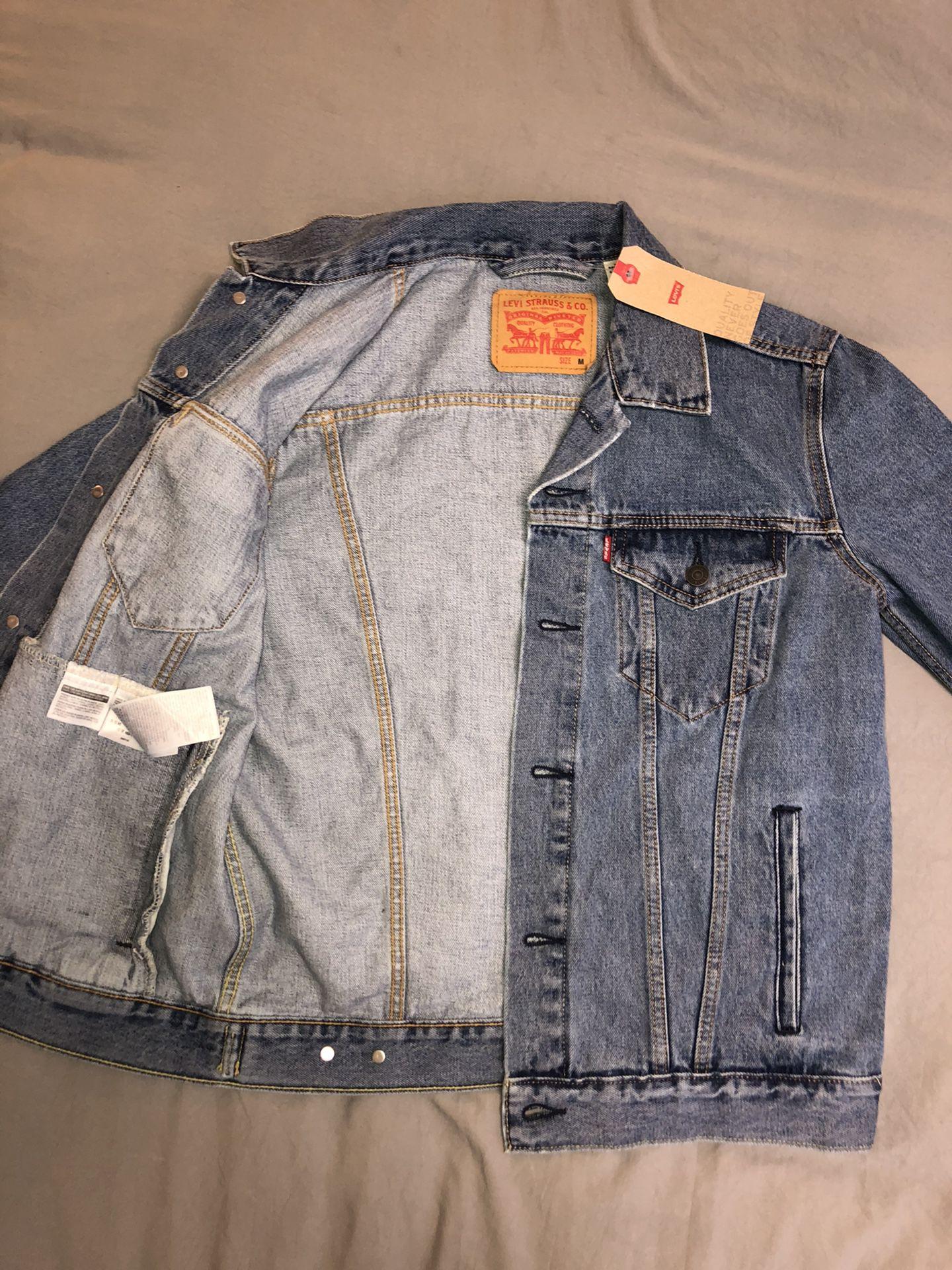 Jean jacket Levi's brand new never worn