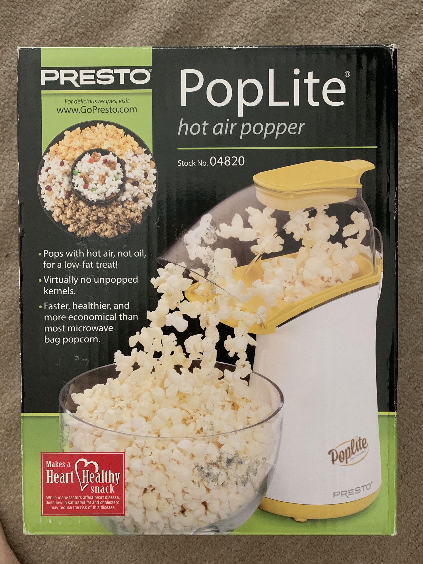 Popcorn Machine (PopLite Hot Air Popper)