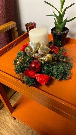 Christmas candle holder Thumbnail