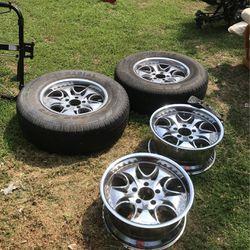 Auto Wheels With 2 Tires Thumbnail
